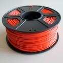 Filament 3d PLA 3 mm ROUGE (Bobine de 1 Kg)