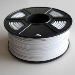Filament 3d BLANC ABS 3 mm (Bobine de 1 Kg)