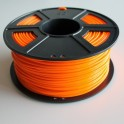 Filament 3d PLA 1.75 mm ORANGE (au mètre)