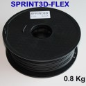 Filament 3d flexible NOIR 3 mm SPRINT3D-FLEX