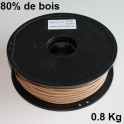 Filament 3d SPRINT3D-WOOD BRUN 3 mm