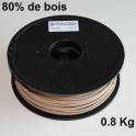 Filament 3d SPRINT3D-WOOD CLAIR 1.75 mm