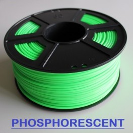 Filament 3d VERT PHOSPHORESCENT ABS 1.75 mm (Bobine de 1 Kg)