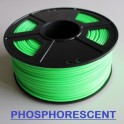 Filament 3d VERT PHOSPHORESCENT ABS 3 mm (Bobine de 1 Kg)