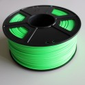 Filament 3d VERT PHOSPHORESCENT PLA 1.75 mm (Bobine de 1 Kg)