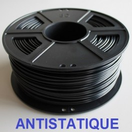 Filament 3d NOIR ANTISTATIC ABS 1.75 mm (Bobine 1 Kg)
