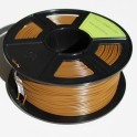 Filament 3d MARRON PLA 1.75 mm (Bobine de 1 Kg)