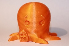 exemple objet 3d orange