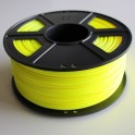 Filament 3d JAUNE ABS 3 mm (Bobine de 1 Kg)